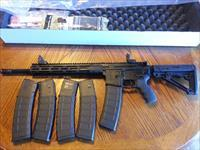"Radical Firearms AR15 AR 15 300AAC Blackout 16"" LOTS OF XTRAS (5) 40 rd mags Hogue Stock Pachmayr Grip Magpul Flip Up Sights"