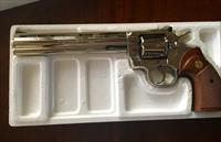 "Colt Python Nickel 8"" .357 Magnum - Excellent Condition"