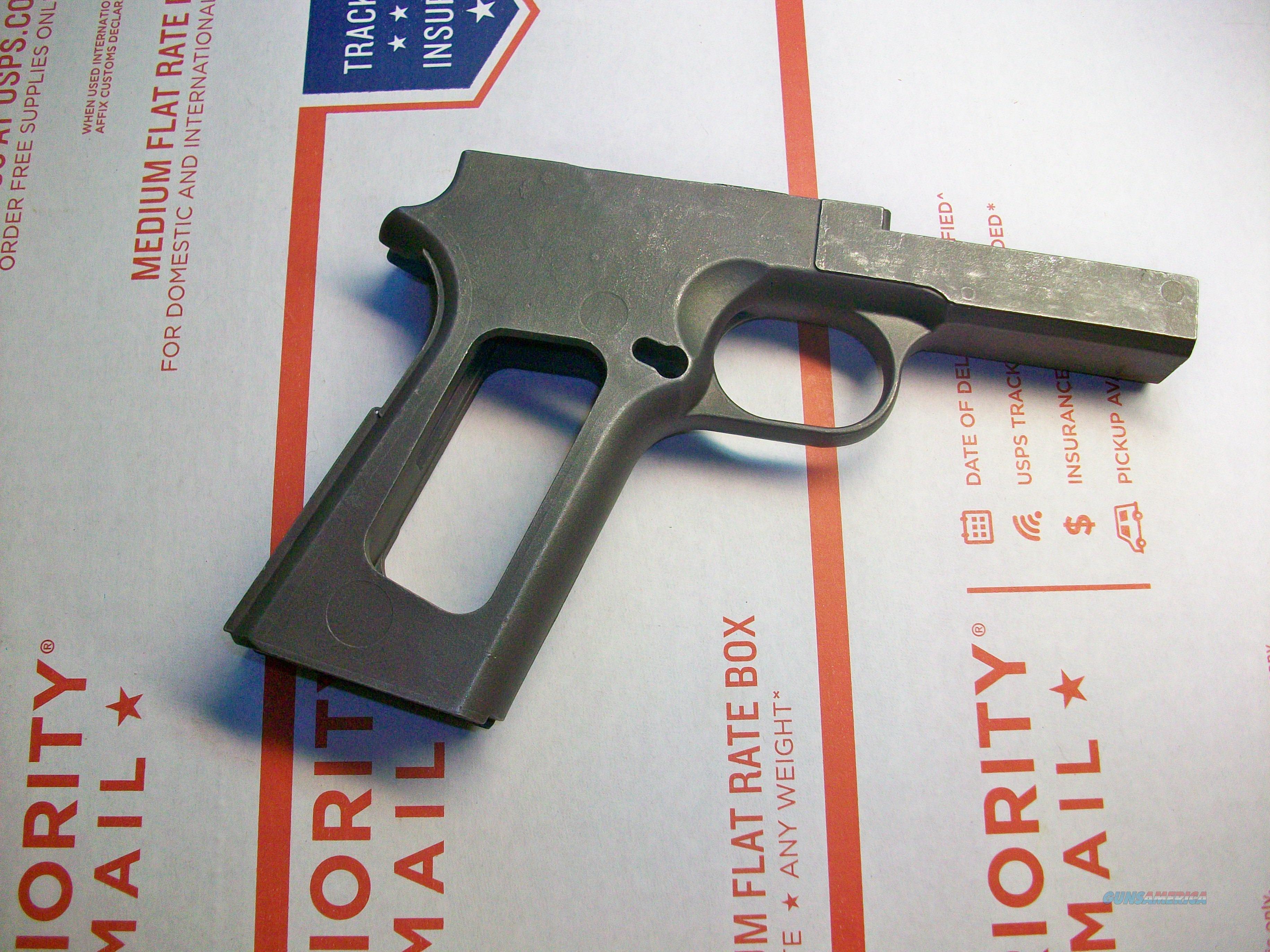 1911 frame casting, raw w/ rail, for gunsmith p... for sale