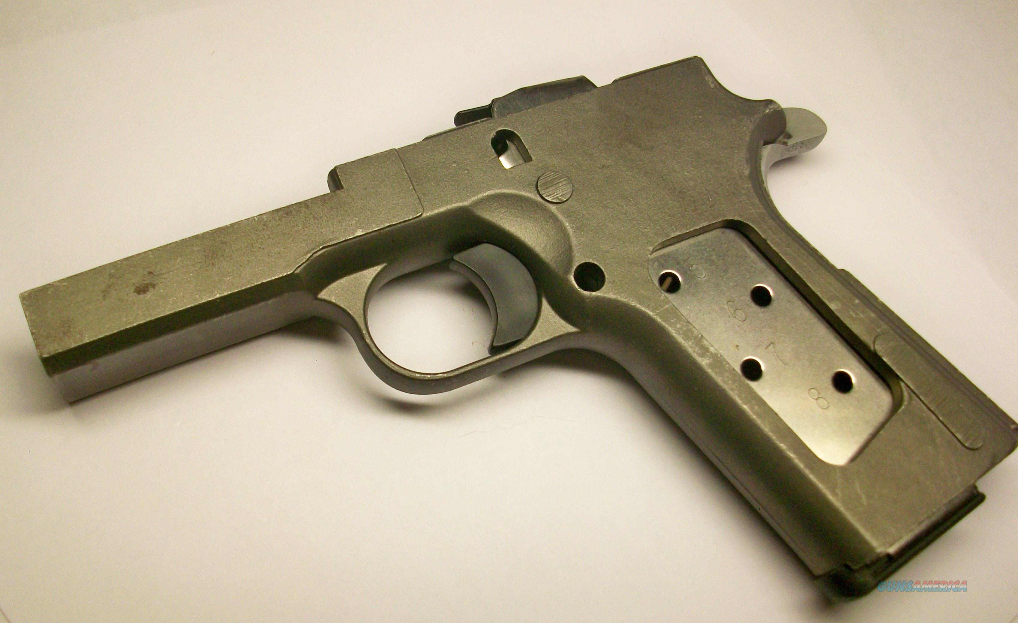 1911 frame casting, raw w/ rail, for gunsmith p... for sale