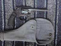 Colt New Service .455 Eley Mfg. 1915 with period cloth holster