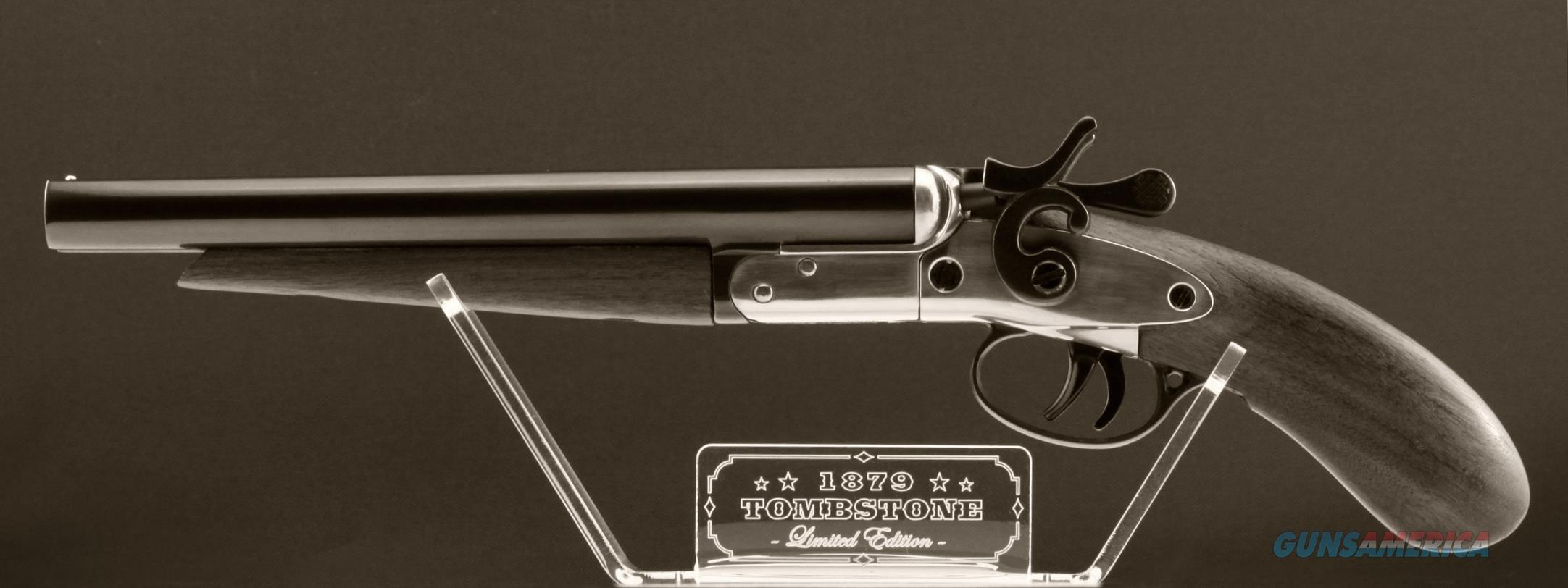 1879 Tombstone Miniature Shotgun By Burke Galle For Sale