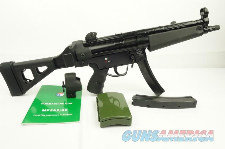 *NEW* POF MP5 PISTOL W SB TACTICAL SIDE FOLDING BRACE, MAGS, ACCESSORIES