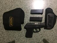 Keltec P3AT .380 pocket pistol with 3 mags and 2 holsters