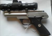 Colt .22 lr Target Pistol Stainless Steel w/Tasco ProPoint