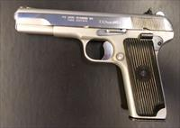 Zastava M57 7.62x25mm Tokarev Pistol chrome mat/polished