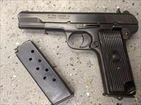 M57 Zastava 7.62mm Tokarev Blued Matching Serial Nos.