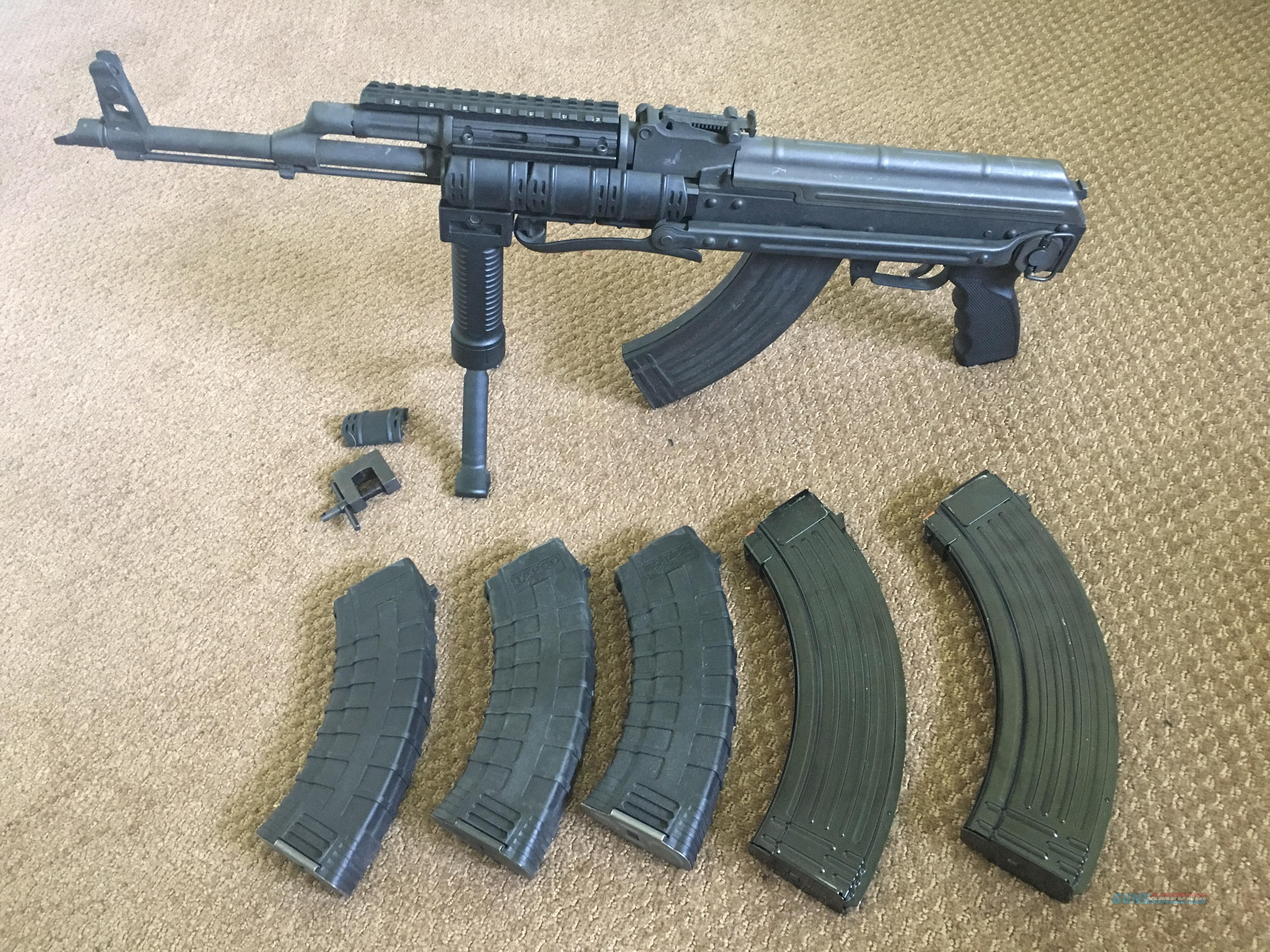 CIA AK47 7 62x39 AKMS underfolder complete package