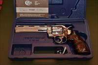 "Rare Colt Python .357 6"" Bright Stainless Steel"