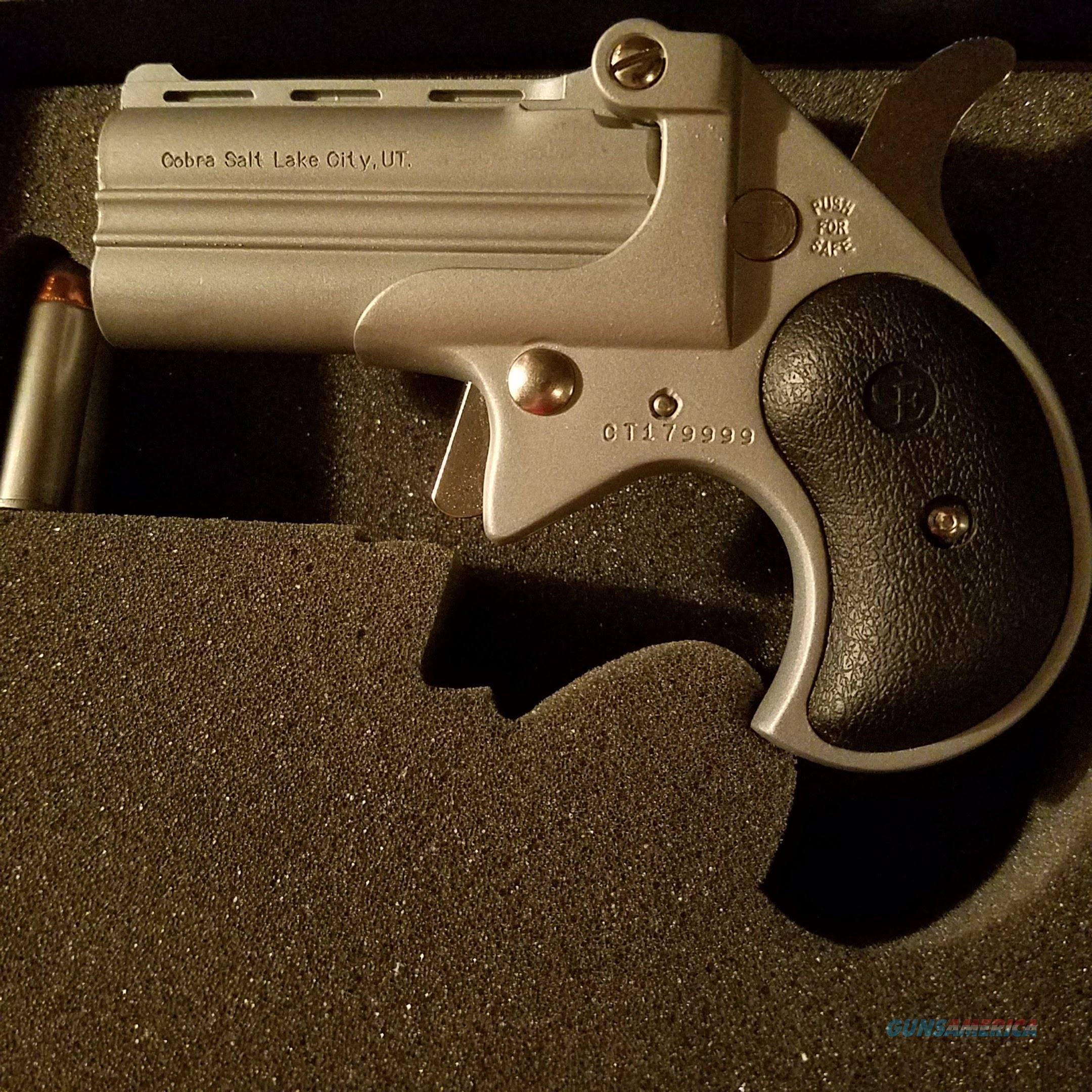 cobra derringer 38 special cb38sb ni for sale rh gunsamerica com Cobra Derringer 22 Mag Cobra Derringer 38 Special Manual