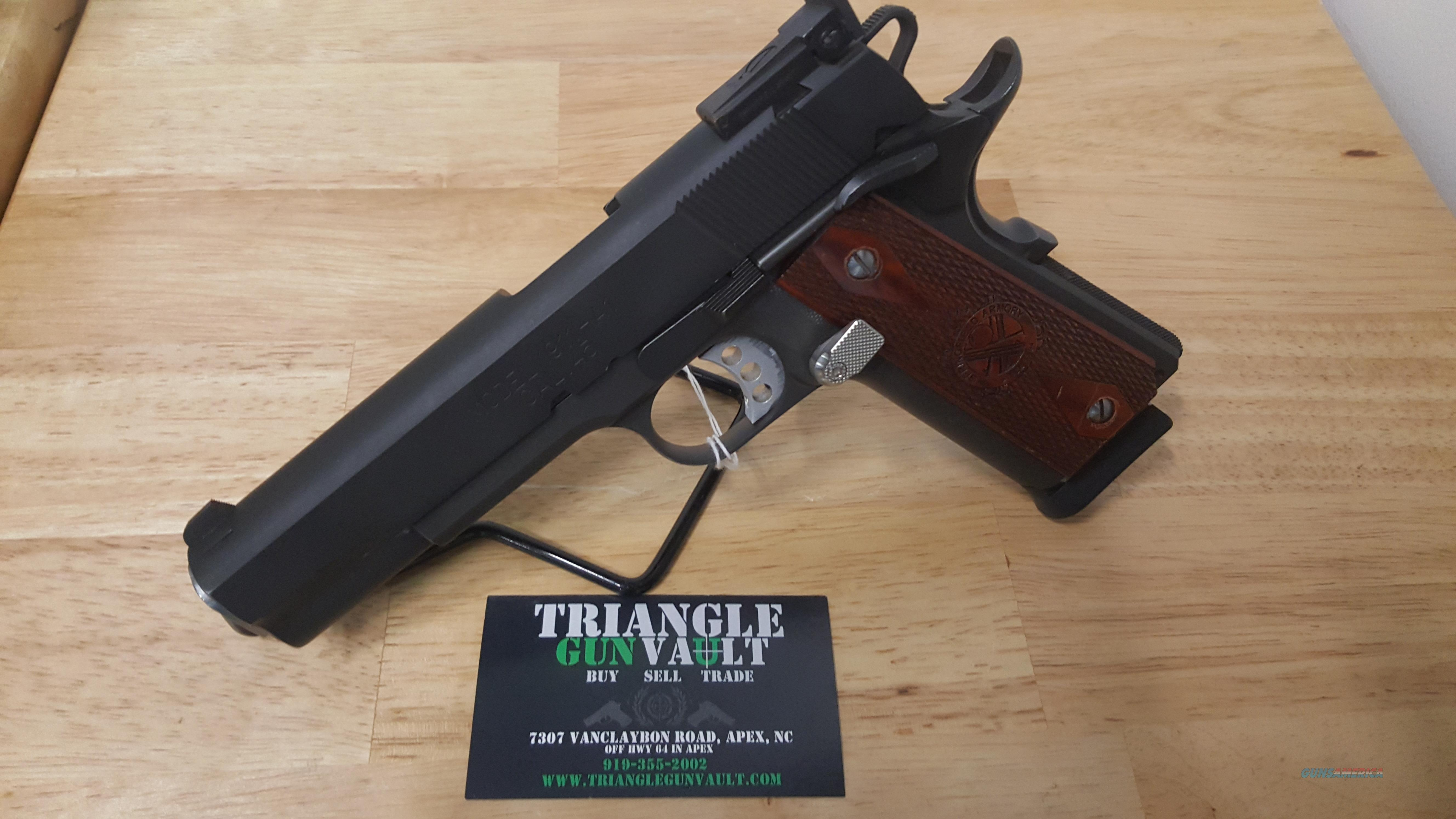 Springfield Range Officer 1911  45acp W/Extended Mag Release + 2 Extra Mags