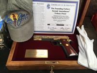 Colt 45 America Remembers 2ND Admendment Tribute Pistol