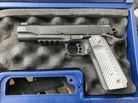 "Colt 1911 Rail Gun 5"" with 4 Wilson Combat 8rnd mags and Desantis holster"