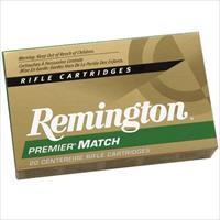Remington Premier Match 223 Rem 62gr HP 20/bx
