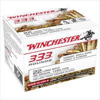 Winchester Ammo 22LR 36gr. HP 333bx