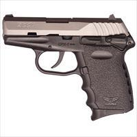 Sccy CPX-1 TT 9mm SS/Black (Manual Safety)