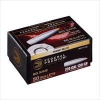 Fed Bullets .277 130 Gr Trophy Bonded