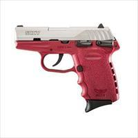 SCCY CPX-1 TTCR 9MM SS/CRIMSON (DOUBLE SIDED SAFETY)