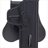 Bulldog Rapid Release Holster 1911C Blk