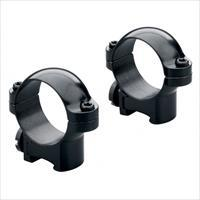 Leupold RM Rimfire 11mm High Ringmounts-Gloss Black