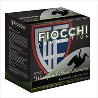 Fiocchi 123ST Speed Steel 12ga 3in MAX 1 1/8 ounce shot - 1