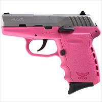 Sccy CPX-2 TTPK 9mm SS/Pink (No Manual Safety)