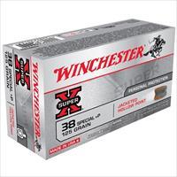 Winchester Ammo 125gr 38 Special+P JHP Super X