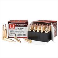 Hornady Superformance Varmint 17 Hornet 15.5gr NTX 25/bx