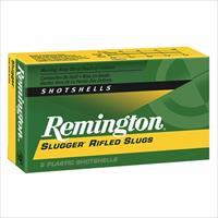 Remington Slugger 12ga 3'' 1oz Slug 5/bx