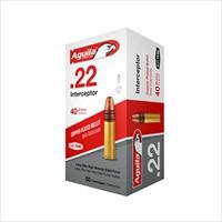 AGUILA 22LR INTERCEPTOR SP 40GR 50/BOX