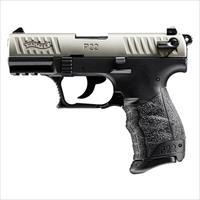 Walther P22 CA Compliant Nickel 22LR 3.42''  10rd