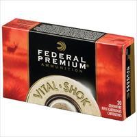 Federal Vital Shok 7mm Rem Mag 160gr Nosler Partition 20/bx