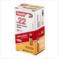 Aguila Ammo .22 Short HV SP 29gr 50rd/Box 100Box/Case