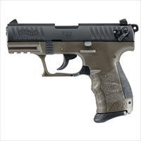 Walther P22 CA Compliant OD Green 22LR 3.42''  10rd