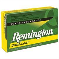 Remington Core-Lokt 308 Win 180gr SP 20/bx