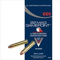CCI Ammo 22 Mag 40gr. Game Point