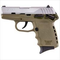Sccy CPX-1 TTDE 9mm SS/FDE (Manual Safety)