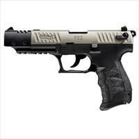Walther P22 CA Compliant Nickel 22LR 5''  10rd