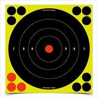 Shoot-N-C 8'' Bull's-Eye Target 30 Sheet Pack