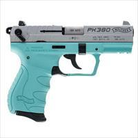 Walther PK380 .380 ACP Angel Blue 8 round 1 MAGS