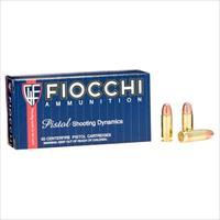 Fiocchi Shooting Dynamics 38 Super Auto 129gr FMJ 50/bx