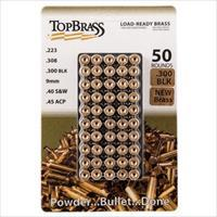 Top Brass New Condition 300 AAC Blk Cases 50/bag