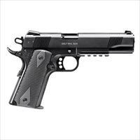 Walther Colt Government 1911 A1 Rail Gun 22LR 5''  12rd