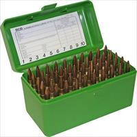 MTM  Ammo Box 50 Round Flip-Top 223 204 Ruger 6x47