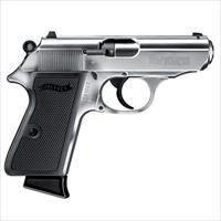 Walther PPK/S Nickel .22LR 3.3''  Barrel 10rd