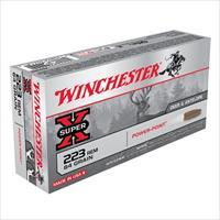 Winchester Ammo 223 Rem Super-X 64gr PP