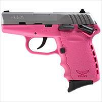 Sccy CPX-1 TTPK 9mm SS/Pink (Manual Safety)