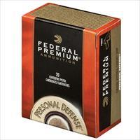Federal Personal Defense 9mm 124gr Hydra Shok 124gr 20/bx