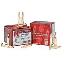 Hornady Superformance Varmint 17 Hornet 20gr V-MAX 25/bx