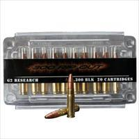 G2R RIP-OUT Ammo 300 BLK Subsonic 200gr R.I.P. Bullet 20/bx